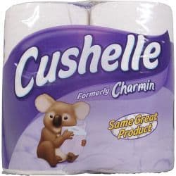 Cushelle White Toilet Roll - Pack 4
